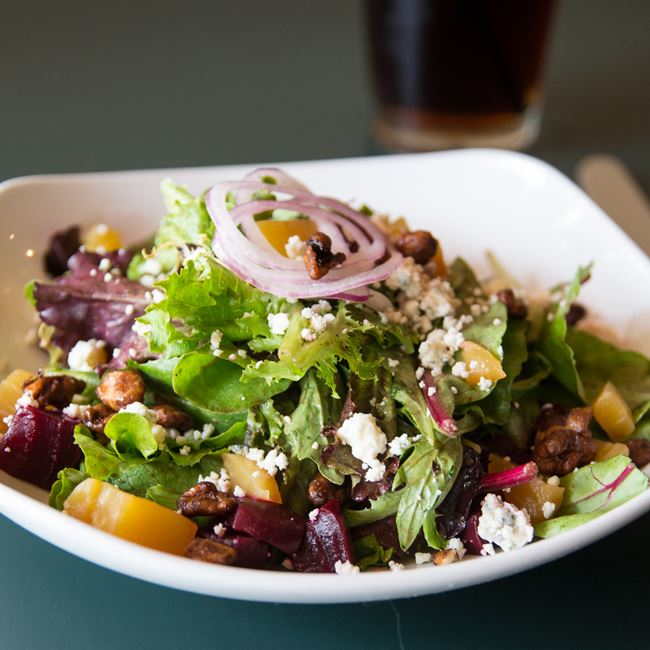 Roasted Beet Salad at Jacs Dining and Taphouse