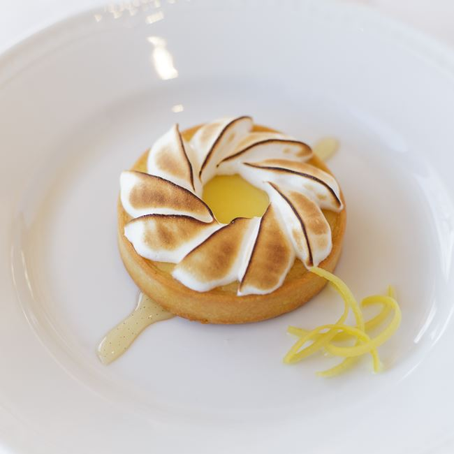 Tarte au Citron at Bartolotta's Lake Park Bistro