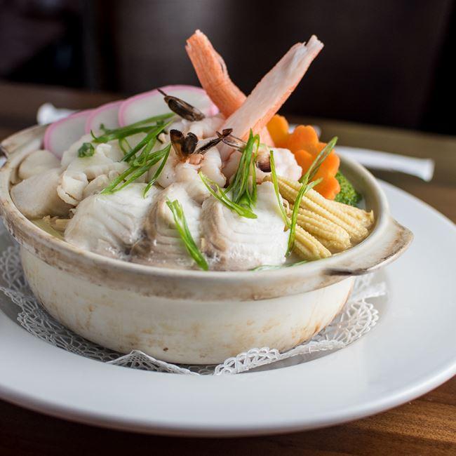 Seafood Udon at Takara 88