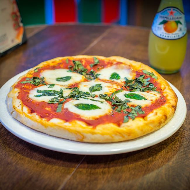 Take and Bake Margherita Pizza at Gouda's Italian Deli
