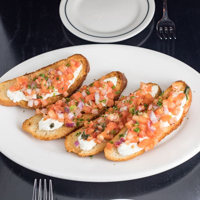 Betta Bruschetta at Johnny's Italian Steakhouse