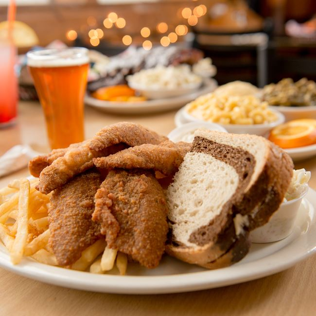 Friday Night Fish Fry at Casey's BBQ & Smokehouse