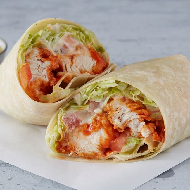 Buffalo Chicken Wrap at Wings Over Rutgers