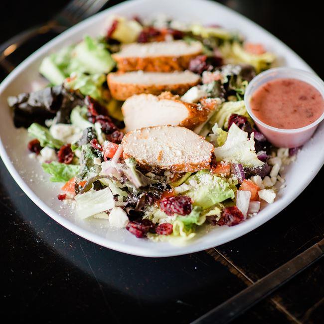 Cranberry Fields Salad at Brick Lot Pub & Grill