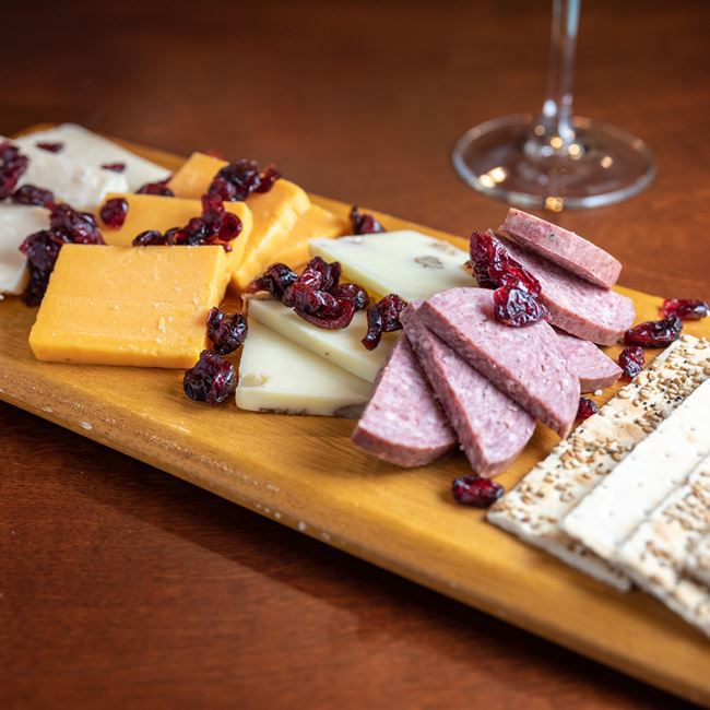 Wisconsin Cheese Board at Gardina's Wine Bar and Cafe