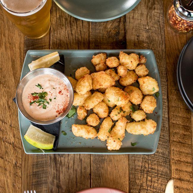 Fried Cedar Grove Cheese Curds