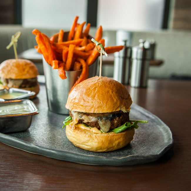 Colorado Lamb Sliders at Root Down
