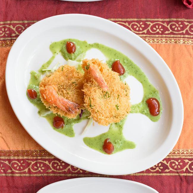 Shrimp Pakoras at Shalimar
