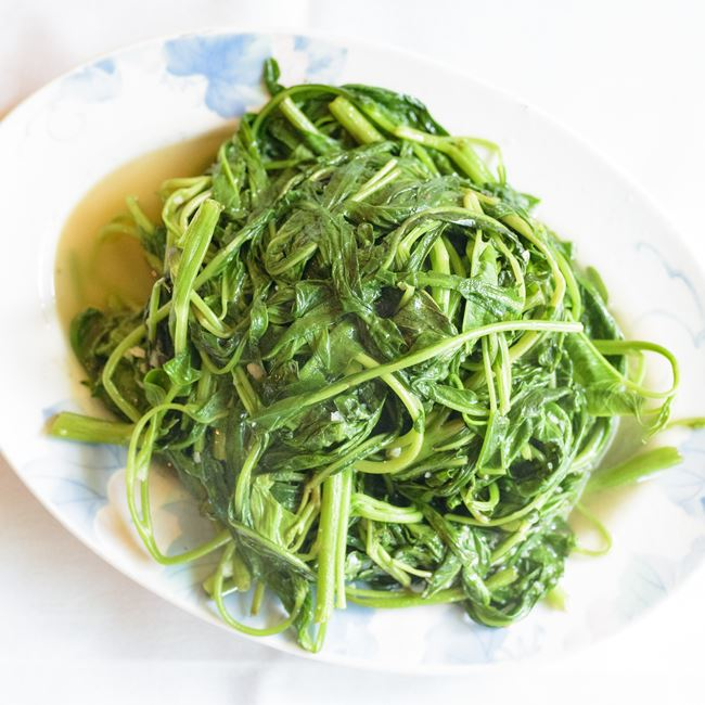 Chinese Watercress with Garlic Sauce at Asian Legend