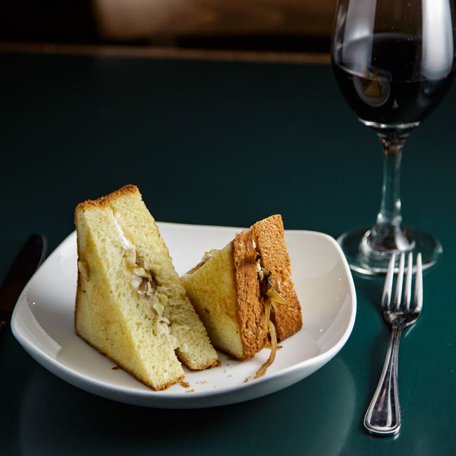 Grilled Cheese Sandwich at Jacs Dining and Taphouse