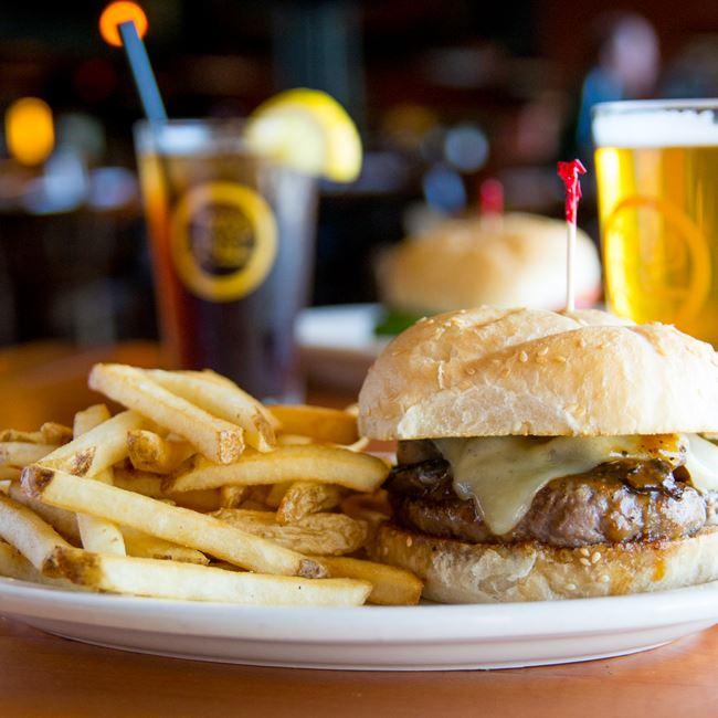 Ringer's Buffalo Burger