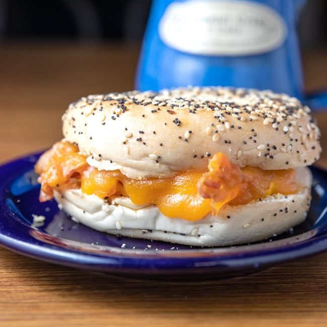 Breakfast Sandwich at Caramel Crisp & Cafe