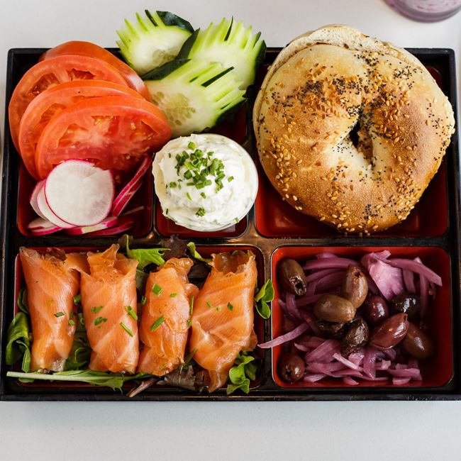 Lox Box at Bassett Street Brunch Club