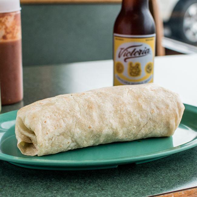 Burrito at Taqueria Gonzales
