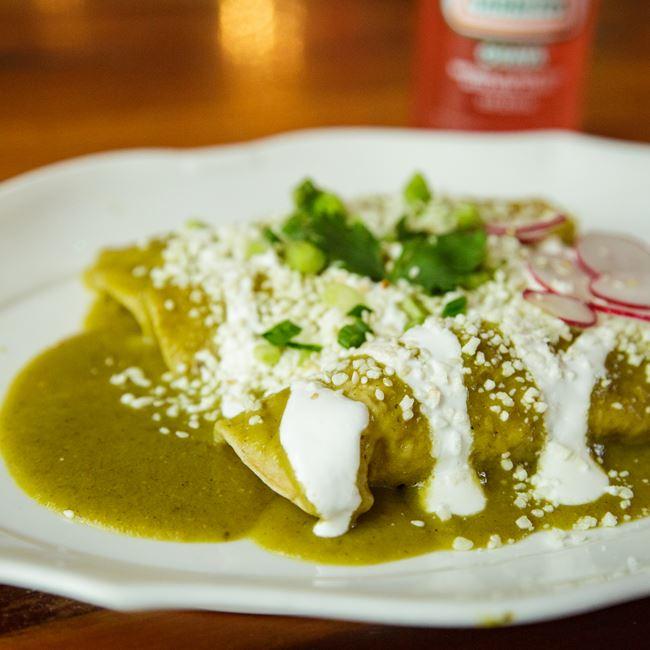 Enchiladas at Canteen
