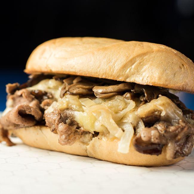 Wards Prime Rib Sandwich at Point Burger Bar