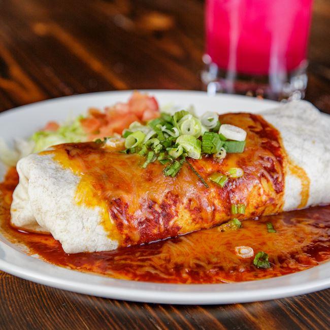 Pasqual's Burrito Cowboy Style at Pasqual's Cantina