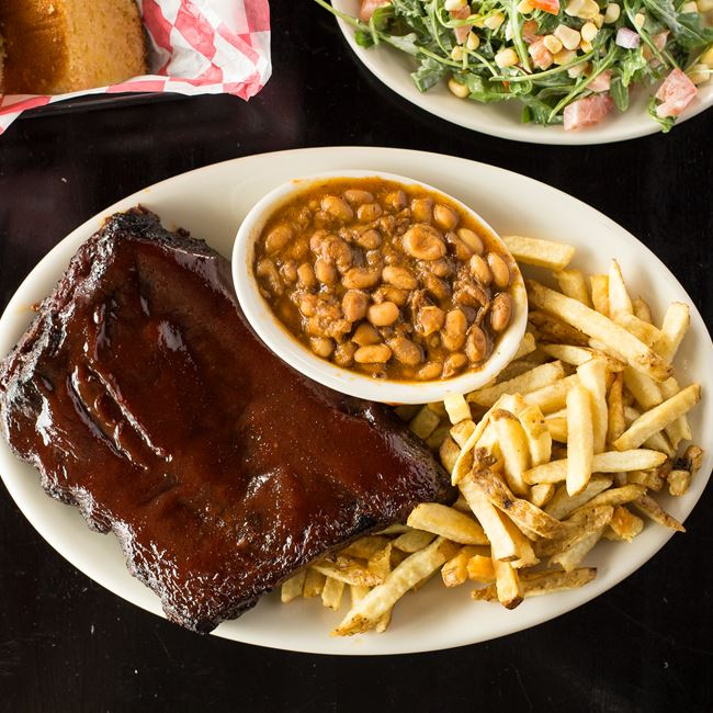 BBQ St Louis Spare Ribs at Maxie's