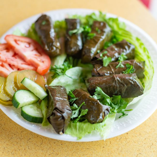 Grape Leaves at Pita Kabob Grill