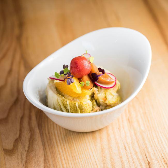 White Kimchi Salad at Char'd
