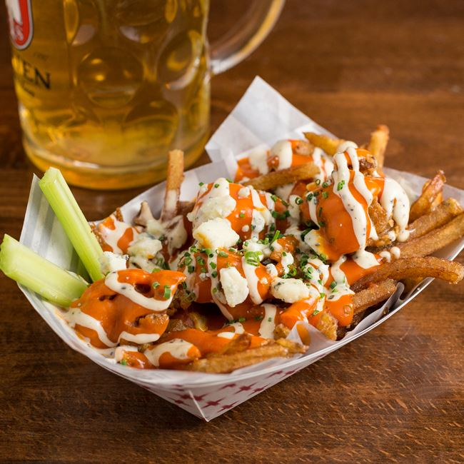 Buffalo Chicken Poutine at The Vanguard