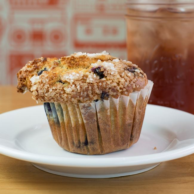Blueberry Muffin at Analog Ice Cream and Coffee