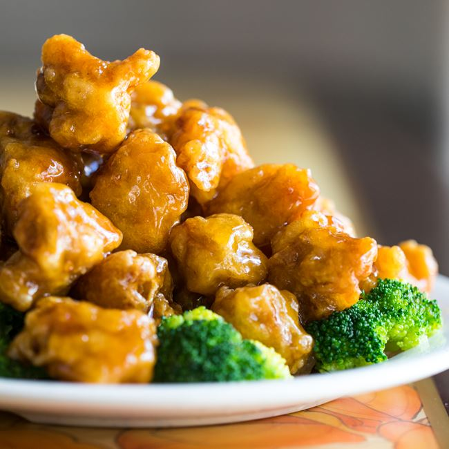 General Tso's Chicken at Good Taste Chinese Restaurant