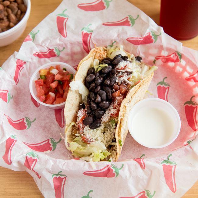 Chorizo Taco at Lupe's Taqueria