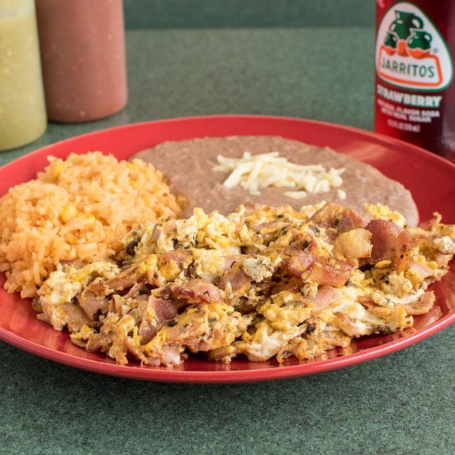 Huevos Rancheros at Taqueria Gonzalez