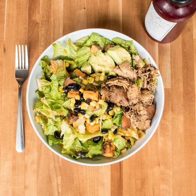 Batatas Rancheros Salad at Forage Kitchen