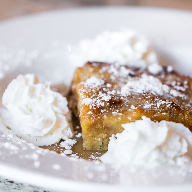 Arlene's Bread Pudding with Whiskey Sauce