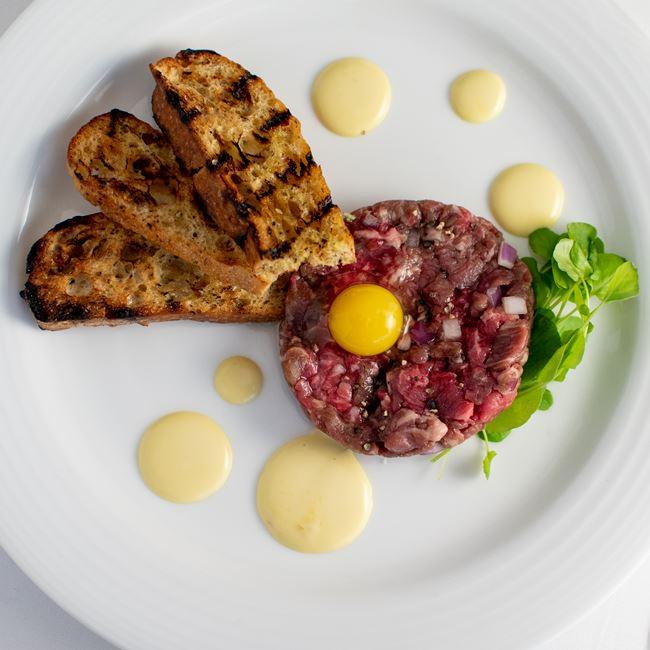 Steak Tartare at Milwaukee ChopHouse