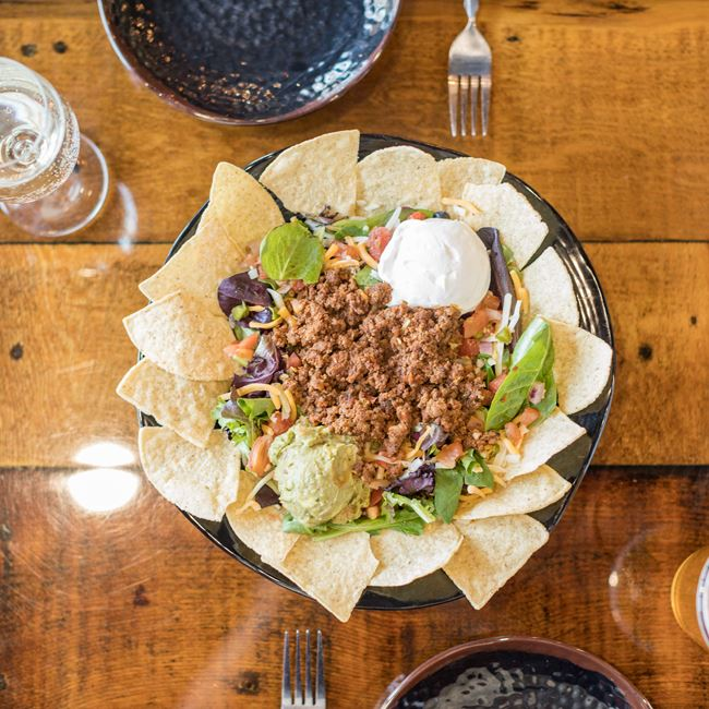 Taco Salad at Cowboy Jack's Saloon