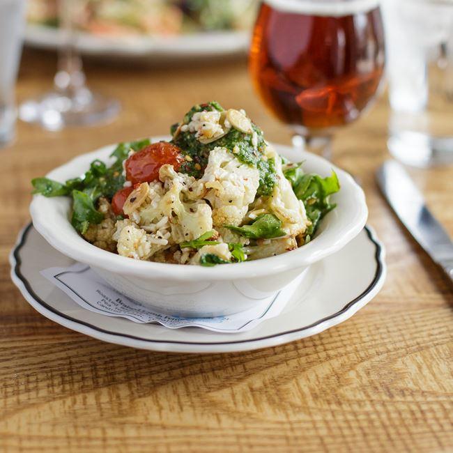 Roasted Cauliflower Salad at Story Hill BKC