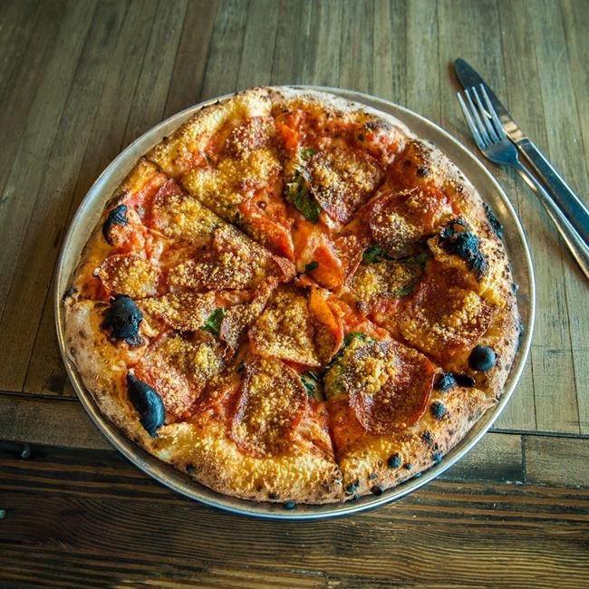 Pepperoni Pizza at Peel