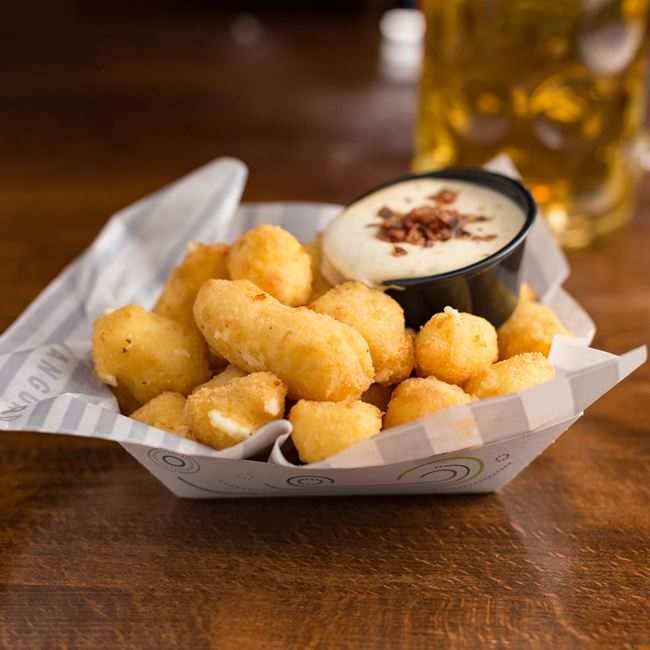 Cheese Curds at The Vanguard