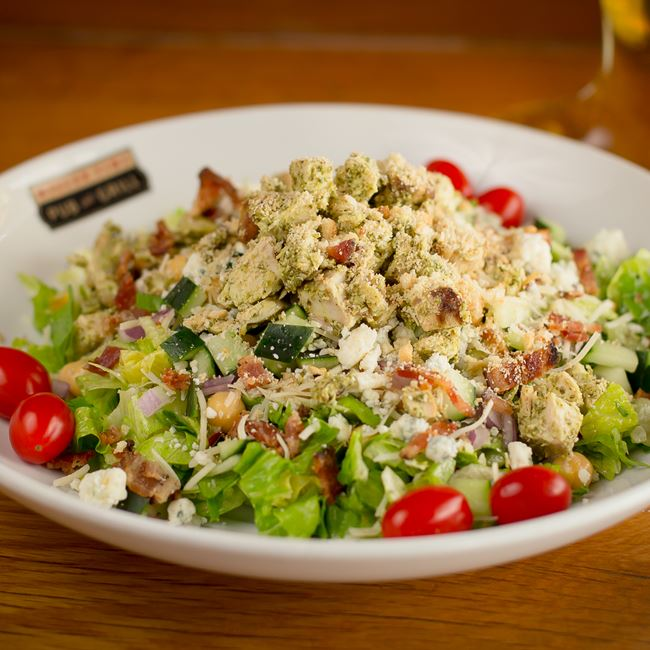 MTPG Chopped Salad at Miller Time Pub & Grill