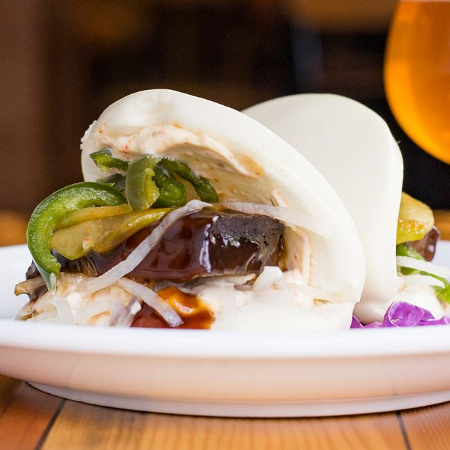 Beef Brisket Steamed Buns at Easy Tyger