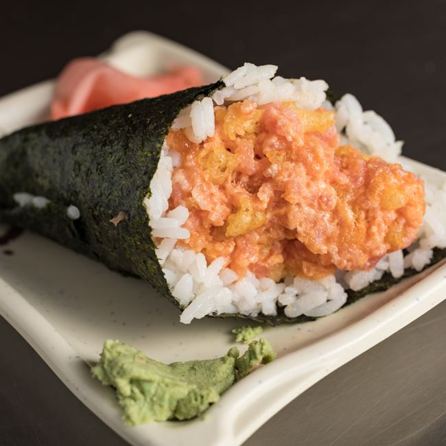 Spicy Crunchy Tuna Roll at Sakura Sushi Depot