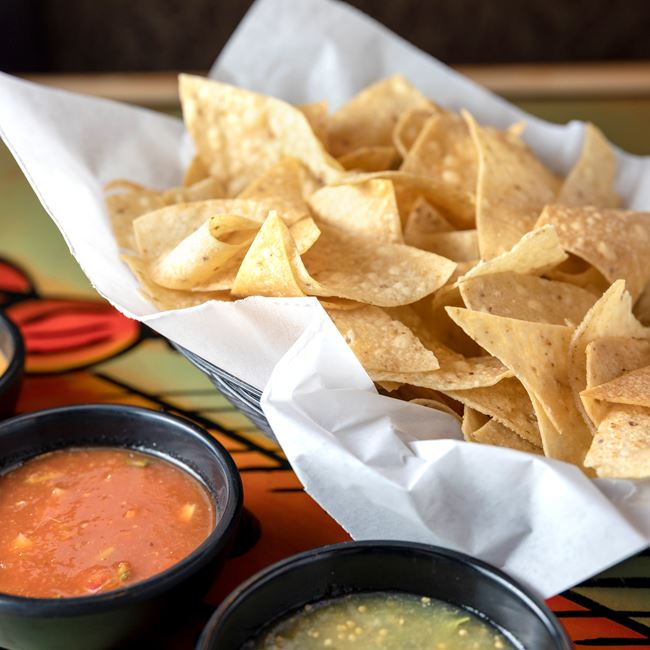 Chips and Salsa at South of the Border