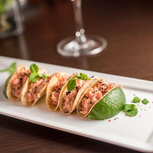 Tuna Tartare Tacos at KIL@WAT