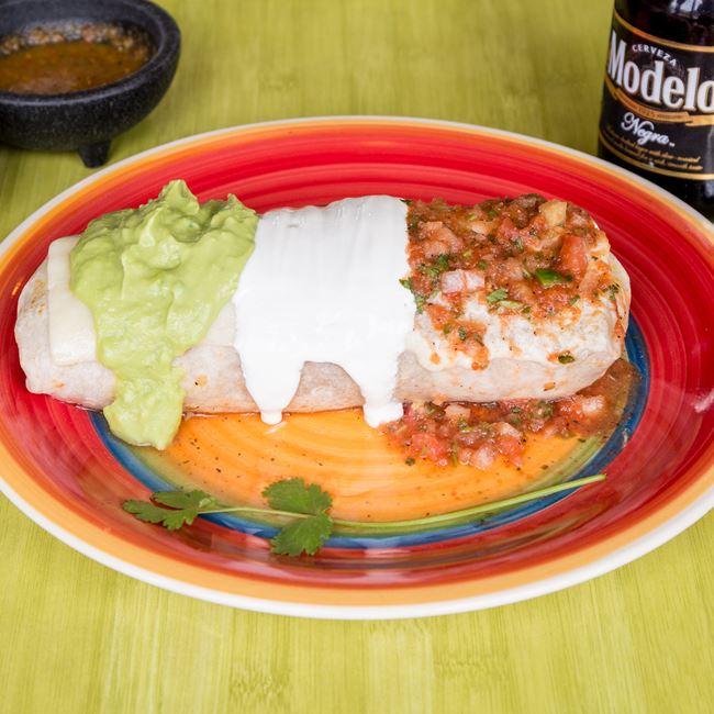 Burrito Mexicano at Taqueria Guadalajara