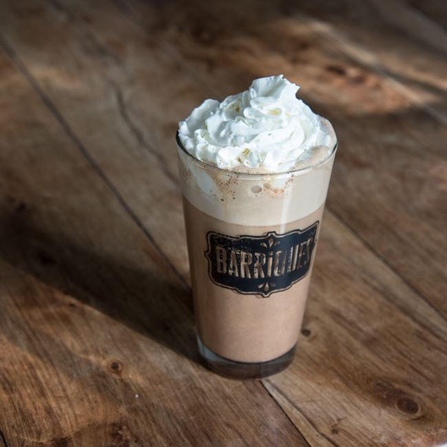 Mexican Mocha at Barriques