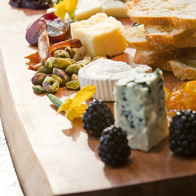 Wisconsin Artisan Cheese Board at Tre Rivali