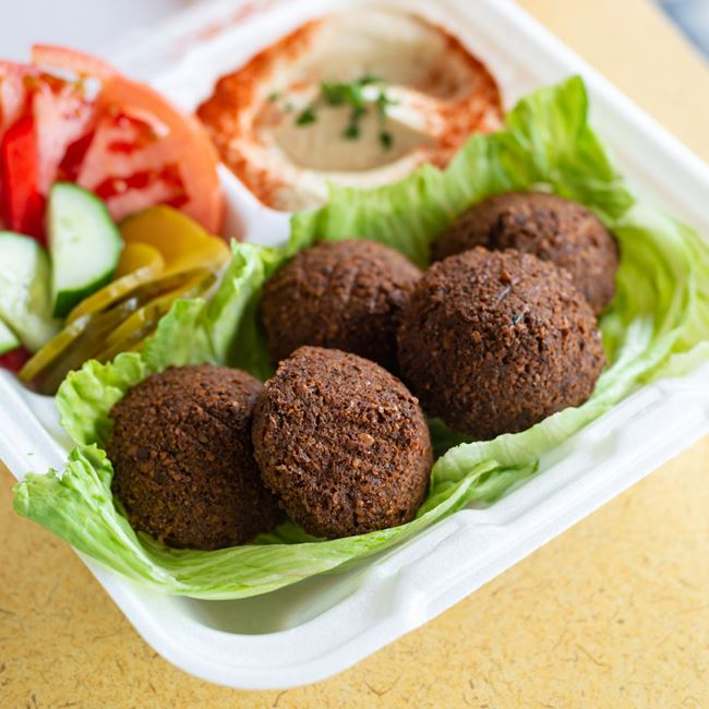 Falafel Dish at Pita Kabob Grill