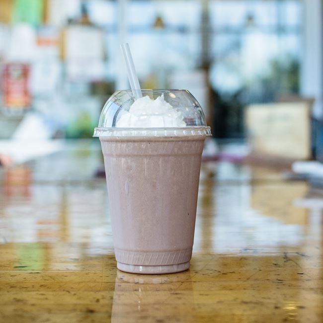 Hand-Spun Chocolate Shake at Out & Out