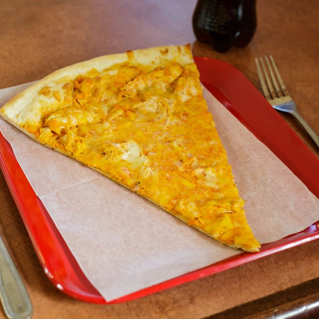 Buffalo Chicken Pizza Slice at Pizza Di Roma