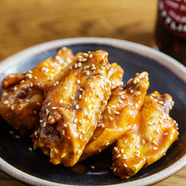 Spicy-Yaki Chicken Wings
