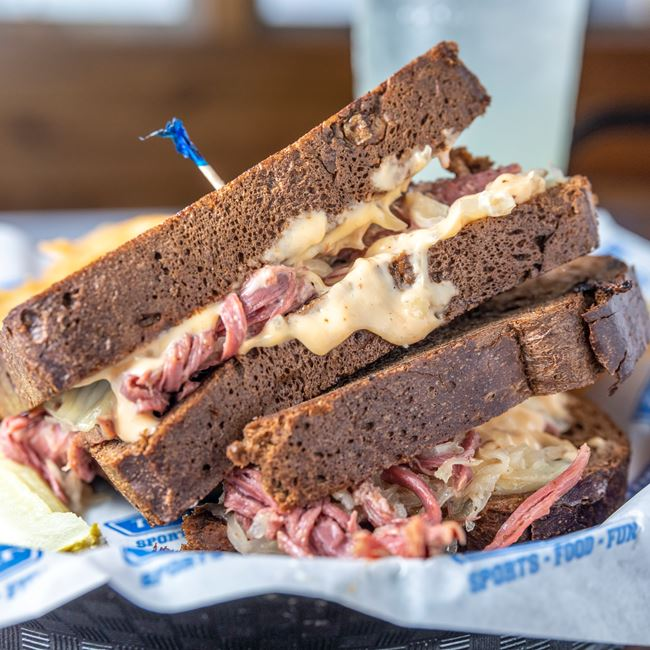 Reuben Sandwich at The Bar
