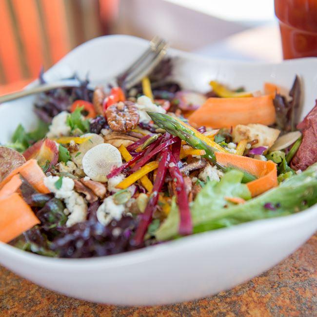Susan's Tossed Salad at Bluefront Cafe